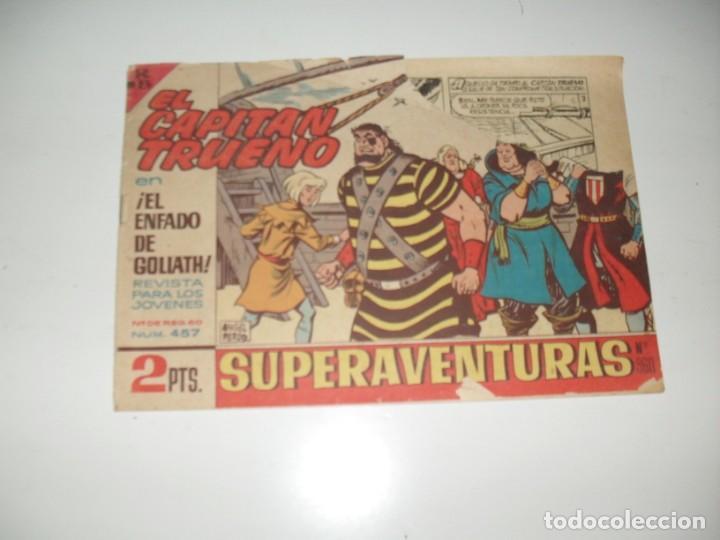 EL CAPITAN TRUENO 457.ORIGINAL.EDITORIAL BRUGUERA,AÑO 1956. (Tebeos y Comics - Bruguera - Capitán Trueno)
