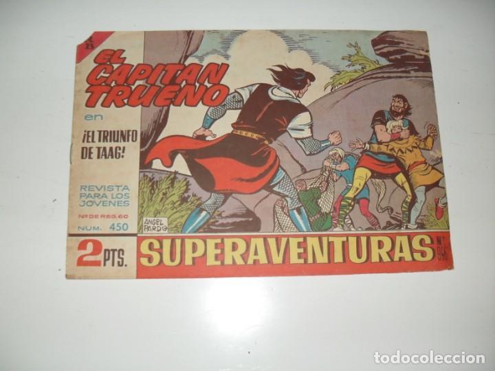 EL CAPITAN TRUENO 450.ORIGINAL.EDITORIAL BRUGUERA,AÑO 1956. (Tebeos y Comics - Bruguera - Capitán Trueno)