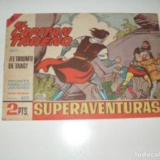 Tebeos: EL CAPITAN TRUENO 450.ORIGINAL.EDITORIAL BRUGUERA,AÑO 1956.. Lote 288148328