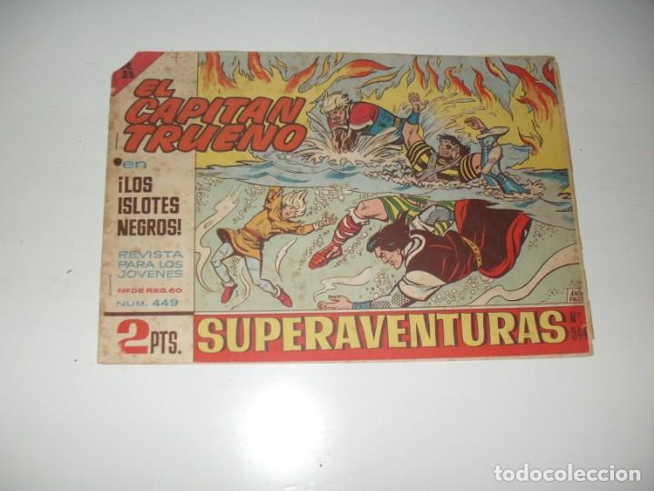 EL CAPITAN TRUENO 449.ORIGINAL.EDITORIAL BRUGUERA,AÑO 1956. (Tebeos y Comics - Bruguera - Capitán Trueno)