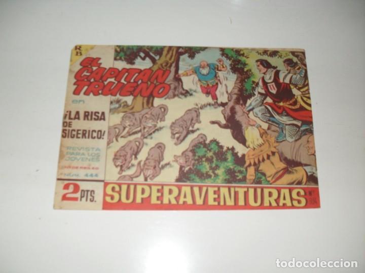 EL CAPITAN TRUENO 444.ORIGINAL.EDITORIAL BRUGUERA,AÑO 1956. (Tebeos y Comics - Bruguera - Capitán Trueno)