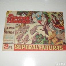 Tebeos: EL CAPITAN TRUENO 444.ORIGINAL.EDITORIAL BRUGUERA,AÑO 1956.. Lote 288148743