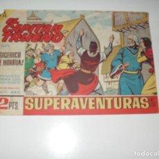Tebeos: EL CAPITAN TRUENO 442.ORIGINAL.EDITORIAL BRUGUERA,AÑO 1956.. Lote 288148848