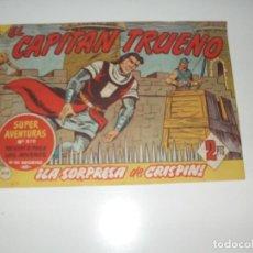 Tebeos: EL CAPITAN TRUENO 412.ORIGINAL.EDITORIAL BRUGUERA,AÑO 1956.. Lote 288149263