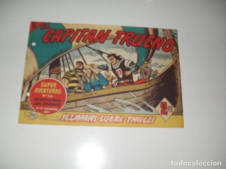 EL CAPITAN TRUENO 402.ORIGINAL.EDITORIAL BRUGUERA,AÑO 1956. (Tebeos y Comics - Bruguera - Capitán Trueno)