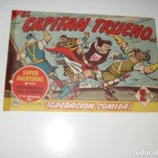 Tebeos: EL CAPITAN TRUENO 400.ORIGINAL.EDITORIAL BRUGUERA,AÑO 1956.. Lote 288149653