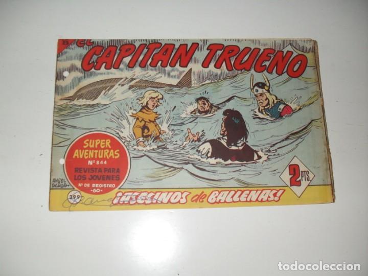 EL CAPITAN TRUENO 399.ORIGINAL.EDITORIAL BRUGUERA,AÑO 1956. (Tebeos y Comics - Bruguera - Capitán Trueno)
