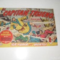 Tebeos: EL CAPITAN TRUENO 395.ORIGINAL.EDITORIAL BRUGUERA,AÑO 1956.. Lote 288150283