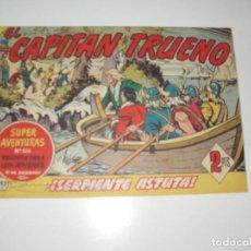 Tebeos: EL CAPITAN TRUENO 392.ORIGINAL.EDITORIAL BRUGUERA,AÑO 1956.. Lote 288150488