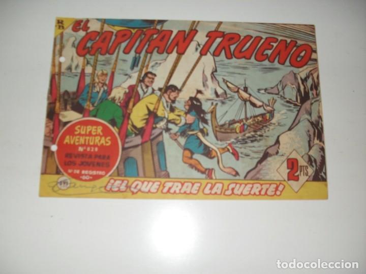 EL CAPITAN TRUENO 391.ORIGINAL.EDITORIAL BRUGUERA,AÑO 1956. (Tebeos y Comics - Bruguera - Capitán Trueno)