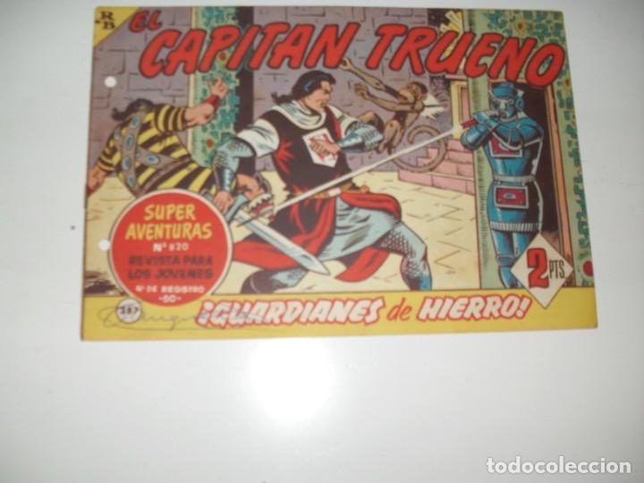 EL CAPITAN TRUENO 387.ORIGINAL.EDITORIAL BRUGUERA,AÑO 1956. (Tebeos y Comics - Bruguera - Capitán Trueno)