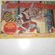 Tebeos: EL CAPITAN TRUENO 387.ORIGINAL.EDITORIAL BRUGUERA,AÑO 1956.. Lote 288150968