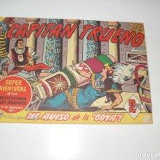 Tebeos: EL CAPITAN TRUENO 386.ORIGINAL.EDITORIAL BRUGUERA,AÑO 1956.. Lote 288151113