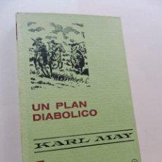 Tebeos: UN PLAN DIABÓLICO. MAY, KARL. COLECCIÓN 8 HISTORIAS SELECCIÓN BRUGUERA. Lote 288171193