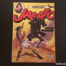 Tebeos: COMIC EDITORIAL BRUGUERA ÁLBUM COLOR JABATO NÚMERO 12 SIKINO TAKANAKA. Lote 288205413
