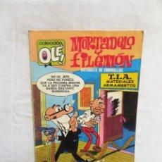 Tebeos: MORTADELO Y FILEMON CATARATA DE EMBROLLOS Nº 100 COLECCION OLE. Lote 288214873