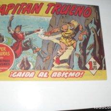 Tebeos: EL CAPITAN TRUENO 226.ORIGINAL.EDITORIAL BRUGUERA,AÑO 1956.. Lote 288216078