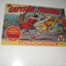Tebeos: EL CAPITAN TRUENO 224.ORIGINAL.EDITORIAL BRUGUERA,AÑO 1956.. Lote 288216283