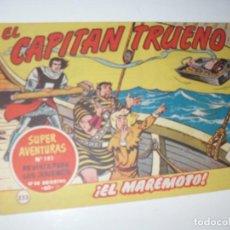Tebeos: EL CAPITAN TRUENO 223.ORIGINAL.EDITORIAL BRUGUERA,AÑO 1956.. Lote 288216383