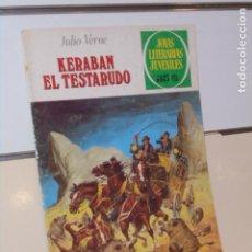 Tebeos: JOYAS LITERARIAS JUVENILES Nº 210 KERABAN EL TESTARUDO JULIO VERNE - BRUGUERA. Lote 288220898