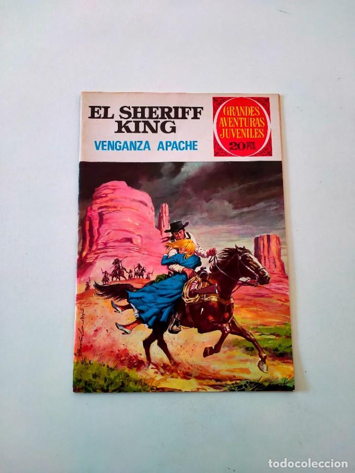 EL SHERIFF KING NÚMERO 12 VENGANZA APACHE EDITORIAL BRUGUERA AÑO 1975 2 EDICIÓN (Tebeos y Comics - Bruguera - Sheriff King)