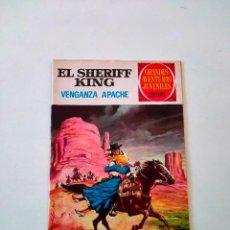 Tebeos: EL SHERIFF KING NÚMERO 12 VENGANZA APACHE EDITORIAL BRUGUERA AÑO 1975 2 EDICIÓN. Lote 288309758