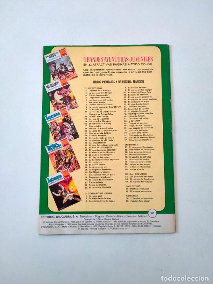 Tebeos: El Sheriff King número 12 Venganza Apache Editorial Bruguera Año 1975 2 Edición - Foto 2 - 288309758