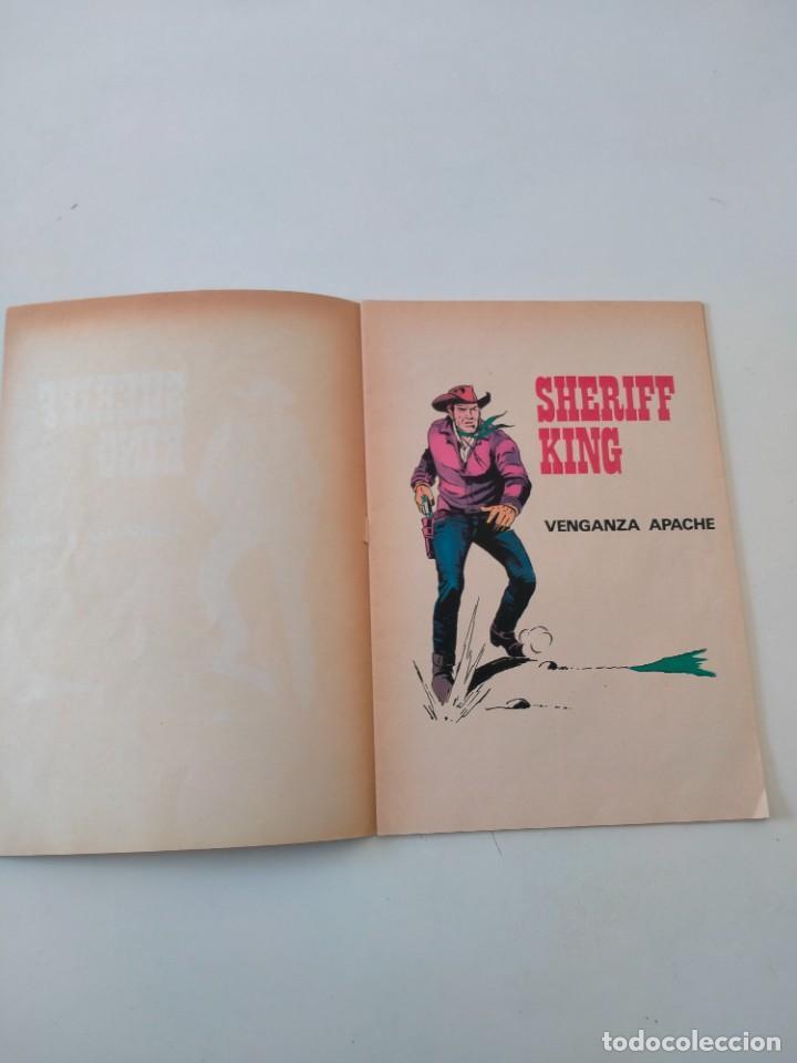 Tebeos: El Sheriff King número 12 Venganza Apache Editorial Bruguera Año 1975 2 Edición - Foto 3 - 288309758