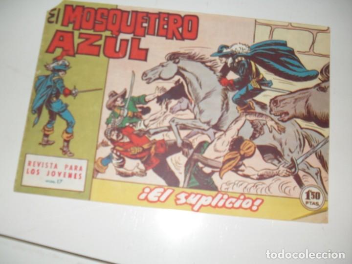 EL MOSQUETERO AZUL 17(DE 26).ORIGINAL.EDITORIAL BRUGUERA,AÑO 1962. (Tebeos y Comics - Bruguera - Cuadernillos Varios)