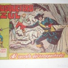 Tebeos: EL MOSQUETERO AZUL 12(DE 26).ORIGINAL.EDITORIAL BRUGUERA,AÑO 1962.. Lote 288315778