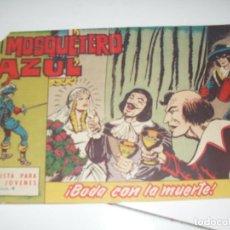 Tebeos: EL MOSQUETERO AZUL 4(DE 26).ORIGINAL.EDITORIAL BRUGUERA,AÑO 1962.. Lote 288315883