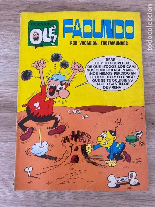 COLECCION OLE Nº 37. FACUNDO, POR VOCACION TROTAMUNDOS. BRUGUERA 1ª EDICION 1971 (Tebeos y Comics - Bruguera - Ole)
