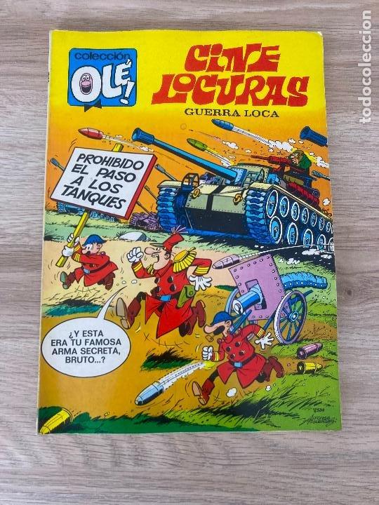 COLECCION OLE Nº 70. CINE LOCURAS, GUERRA LOCA. FIGUERAS. BRUGUERA 1ª EDICION 1973. EXCELENTE (Tebeos y Comics - Bruguera - Ole)
