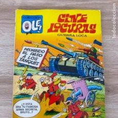 Tebeos: COLECCION OLE Nº 70. CINE LOCURAS, GUERRA LOCA. FIGUERAS. BRUGUERA 1ª EDICION 1973. EXCELENTE. Lote 288342378