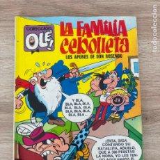 Tebeos: COLECCION OLE Nº 59. LA FAMILIA CEBOLLETA, LOS APUROS DE DON ROSENDO. BRUGUERA 1ª EDICION 1972. Lote 288342643