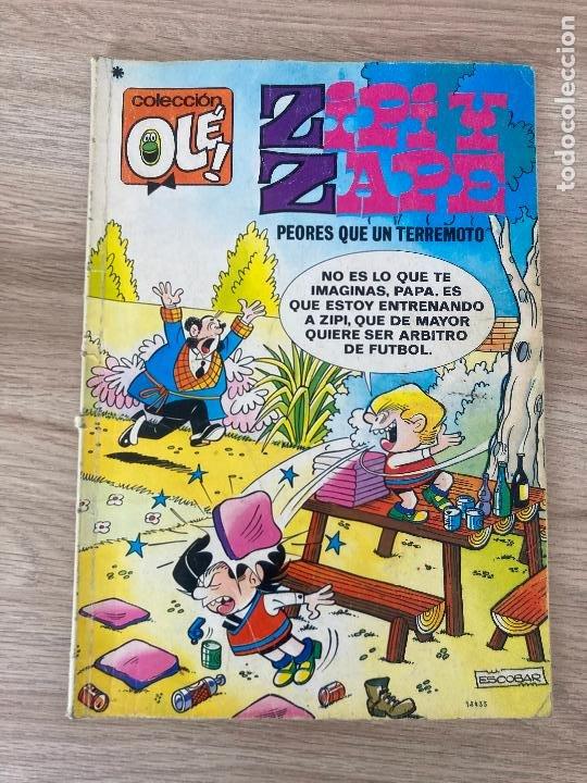 COLECCION OLE Nº 157. ZIPI Y ZAPE. PEORES QUE UN TERREMOTO. BRUGUERA 1ª EDICION 1978 (Tebeos y Comics - Bruguera - Ole)