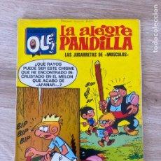 Tebeos: COLECCION OLE Nº 43. LA ALEGRE PANDILLA. LAS JUGARRETAS DE MUSCULOS. BRUGUERA 1ª EDICION 1972. Lote 288346918