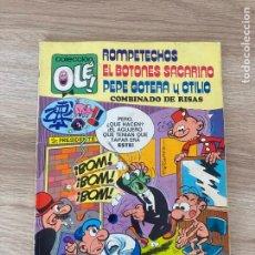 Tebeos: COLECCION OLE Nº 109. EL BOTONES SACARINO, ROMPETECHOS Y PEPE GOTERA. BRUGUERA 1ª EDICION 1975. Lote 288347098