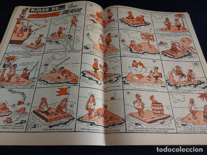 Tebeos: TIO VIVO / EL SEMANARIO DE LAS CARCAJADAS / ÉPOCA 2ª / 90 / 3 PTAS / AÑO 1962 / ESTADO NORMAL - Foto 2 - 288363368