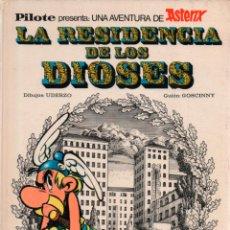 Tebeos: ASTERIX. LA RESIDENCIA DE LOS DIOSES. PILOTE. 1972. BRUGUERA. Lote 288363728