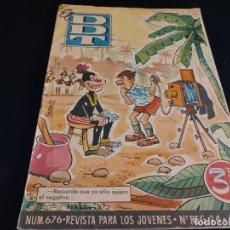 Tebeos: EL DDT / REVISTA PARA LOS JÓVENES / 676 / 3,50 PTAS / AÑO 1964 / ESTADO NORMAL. Lote 288364948