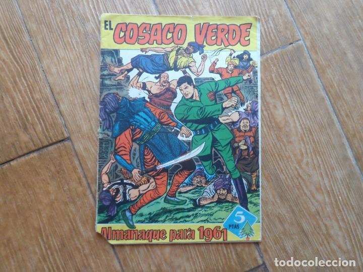 EL COSACO VERDE ALMANAQUE PARA 1961 EDITORIAL BRUGUERA ORIGINAL (Tebeos y Comics - Bruguera - Cosaco Verde)