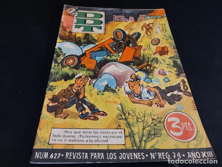 EL DDT / REVISTA PARA LOS JÓVENES / 627 / 3 PTAS / AÑO 1963 / ESTADO NORMAL (Tebeos y Comics - Bruguera - DDT)