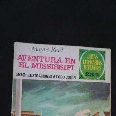 Tebeos: 1 EDICION JOYAS LITERARIAS JUVENILES, EDITORIAL BRUGUERA, NUMERO 159 AVENTURAS EN EL MISSISSIPI. Lote 288366413
