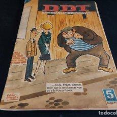 Tebeos: EL DDT / REVISTA PARA ADULTOS / 711 / 5 PTAS / AÑO 1964 / ESTADO NORMAL. Lote 288366893