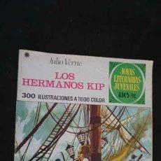 Tebeos: JOYAS LITERARIAS JUVENILES, EDITORIAL BRUGUERA, NUMERO 158 LOS HERMANOS KIP. Lote 288367408