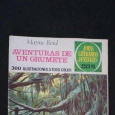 Tebeos: 1 EDICION JOYAS LITERARIAS JUVENILES, EDITORIAL BRUGUERA, NUMERO 157 AVENTURAS DE UN GRUMETE. Lote 288368848