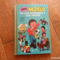 Tebeos: SUPER MARCO DE LOS APENINOS A LOS ANDES VOLUMEN II ED BRUGUERA 1977 MBE. Lote 288371443