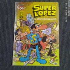 Tebeos: COLECCION OLE Nº 9 SÚPER LOPEZ. Lote 288374063