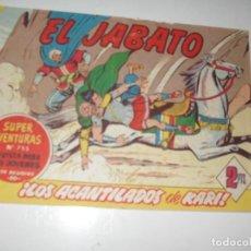 Tebeos: EL JABATO 248.ORIGINAL.EDITORIAL BRUGUERA,AÑO 1958.. Lote 288374308